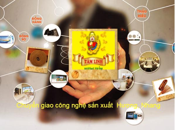 Hương Tâm Linh tìm đại lý, nhà phân phối trầm viên khu vực phía Nam.