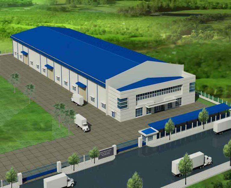 Thiết kế, xây dựng nhà máy, xưởng sản xuất may mặc đạt chuẩn và chuyên nghiệp.