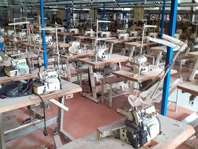 Thu mua máy khâu, xưởng may khu vực miền trung.